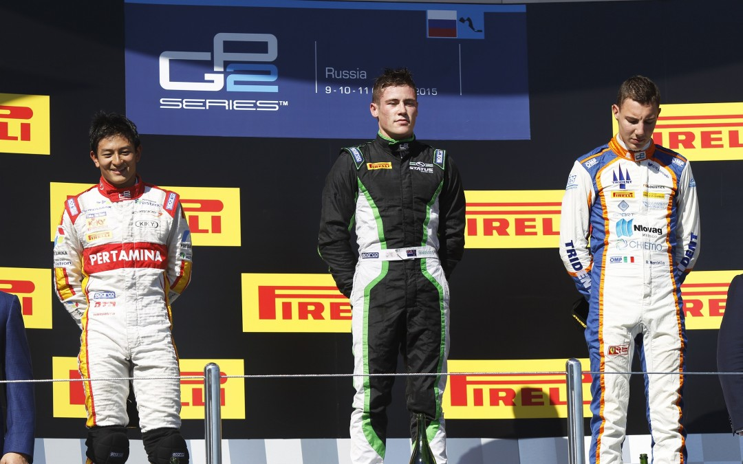 STANAWAY TAKES GP2 WIN FOR STATUS IN SOCHI