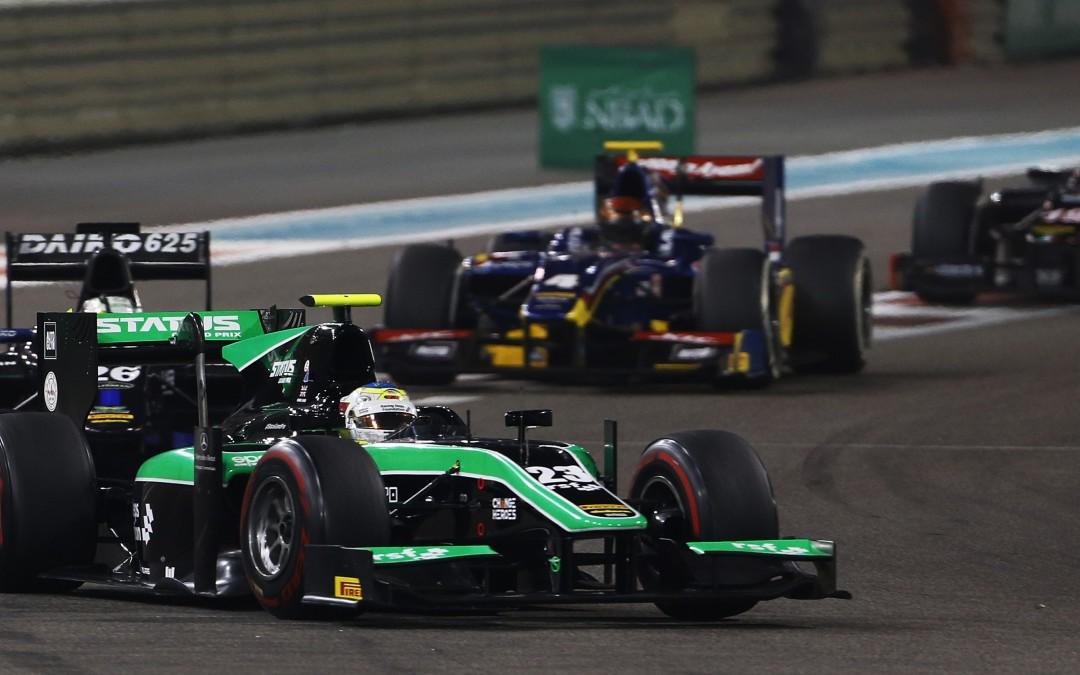 YAS MARINA GP2 FEATURE RACE